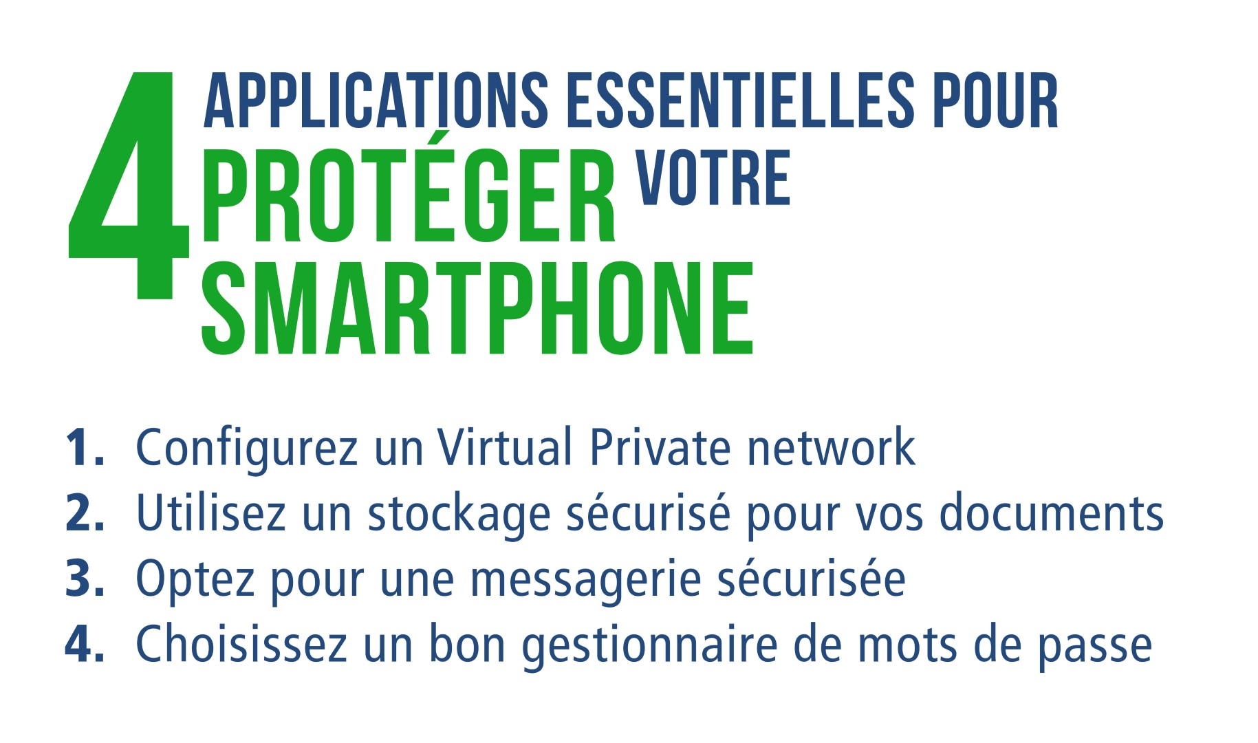 4 applications essentielles pour proteger votre smartphone