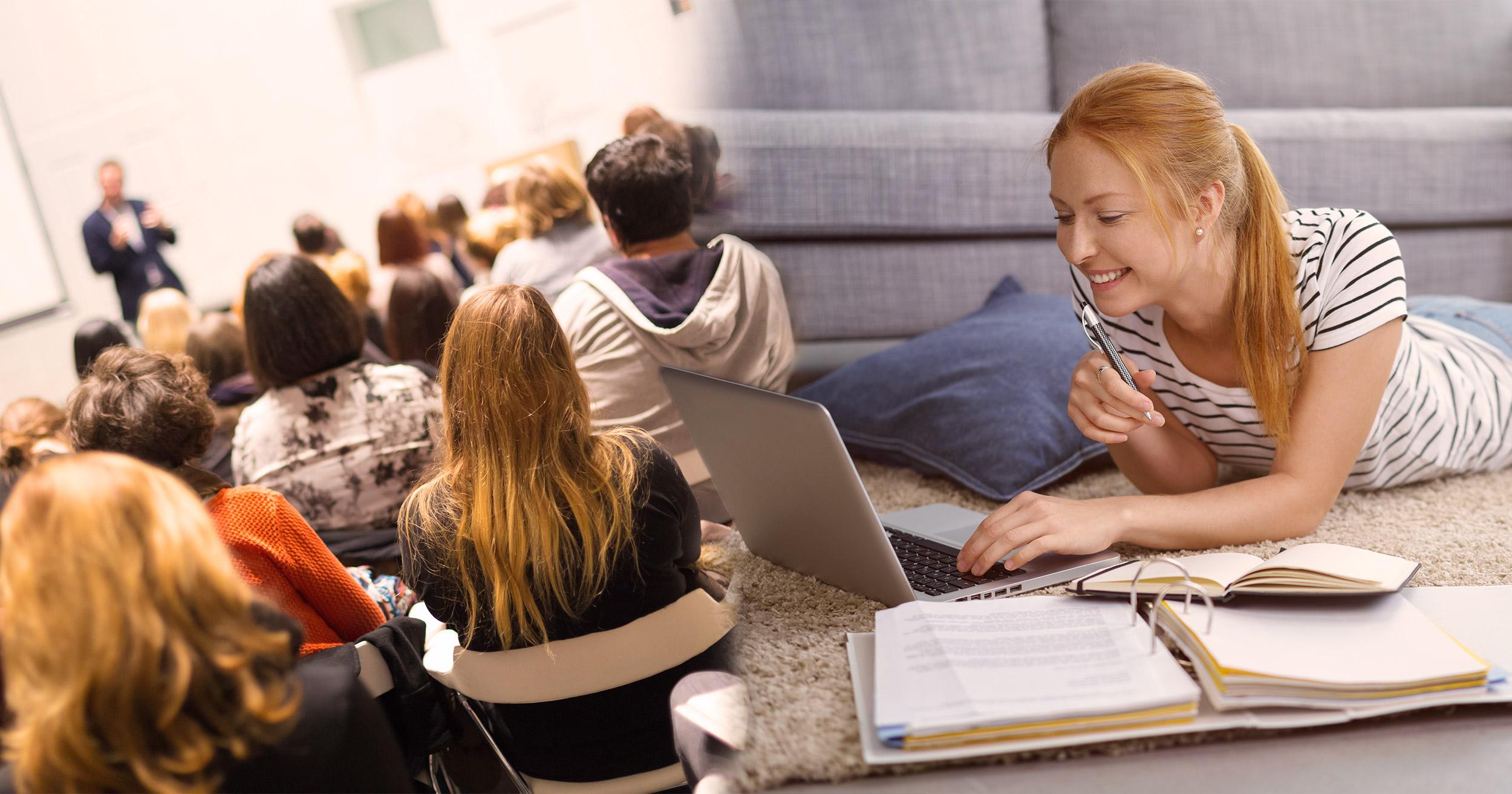 Les différences entre études classiques et études à distance