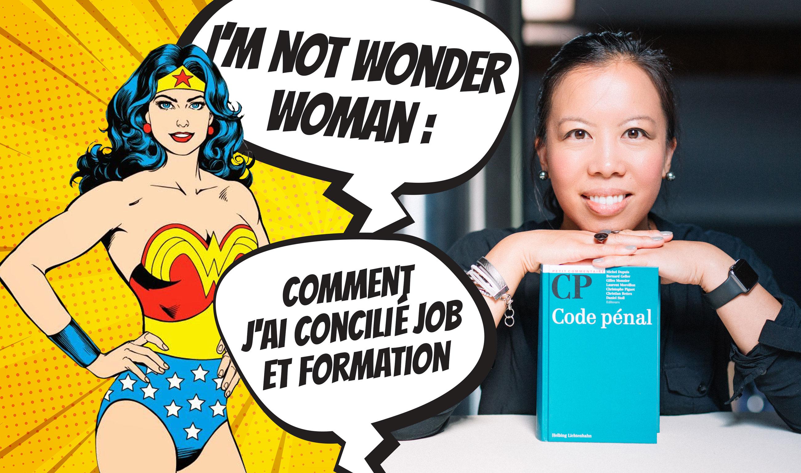 I am not a wonderwoman: comment j'ai concilié job et formation